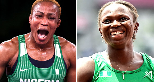 Tokyo Olympics: Oborududu, Brume Give Nigerians Reasons To Cheer With Two Medals