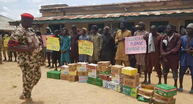 More Boko Haram Insurgents Surrender In Borno, Beg For Forgiveness