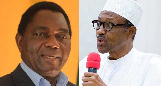 Buhari Congratulates Zambia's President-Elect, Hichilema