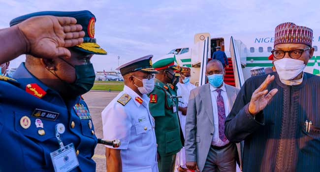 National Security: Buhari To Meet With Security Chiefs On Thursday
