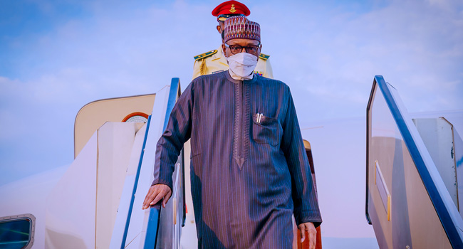 COVID-19: Buhari, Others Isolate After UK Trip