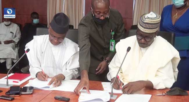 Kaduna Govt, NNPC Sign MoU on Gas Utilisation