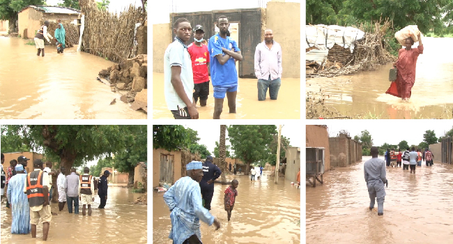 UPDATED: Over 450 Households Affected, Seven Killed As Flood Ravages Yobe Communities