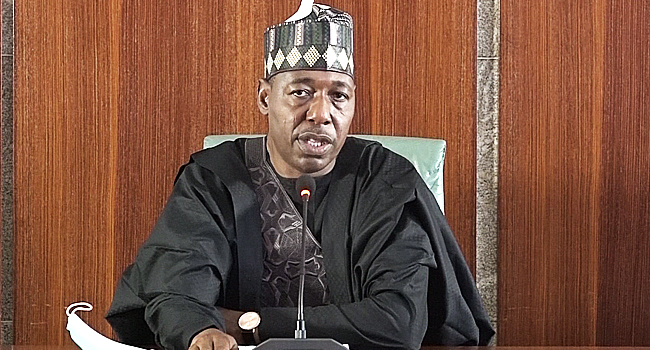 Zulum: Surrendered Insurgents Should Not Be Rejected To Avoid Endless War
