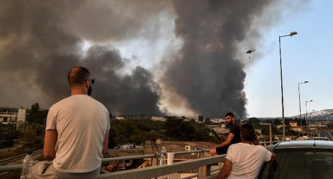 Raging Wildfires Devastate Turkey, Greece
