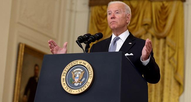 Key Quotes From Biden's Afghanistan Speech