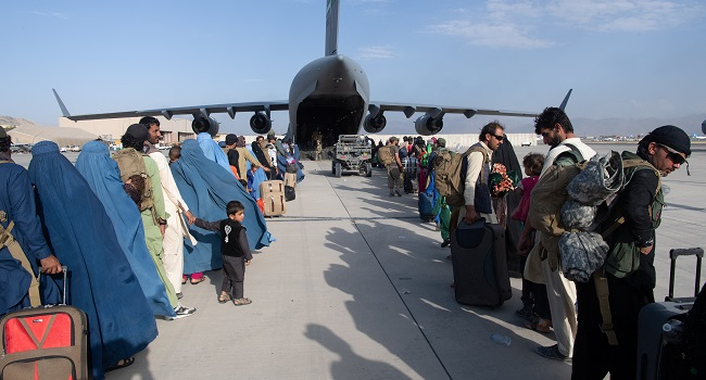 US Tells Citizens To Leave Kabul Airport Gates