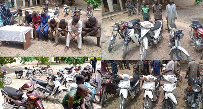 Police Arrest 14 Suspected Criminals In Katsina