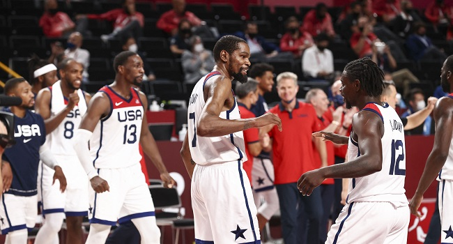 'Bonded For Life': Durant Revels In His Third Olympic Gold
