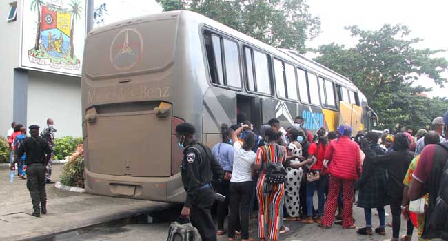 Plateau Crisis: Sanwo-Olu Evacuates Three-Week Old Baby, Lagos Students From Jos