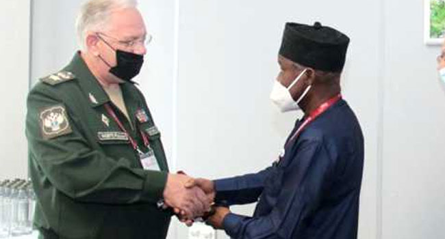 Nigeria, Russia Sign Military Pact