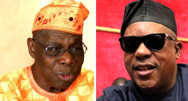 Obasanjo Meets Secondus, Advises Politicians On 2023 Elections