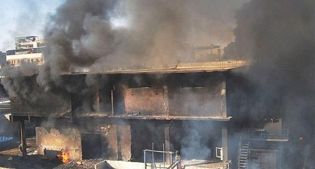 Factory Fire Kills 16 In Pakistan's Karachi