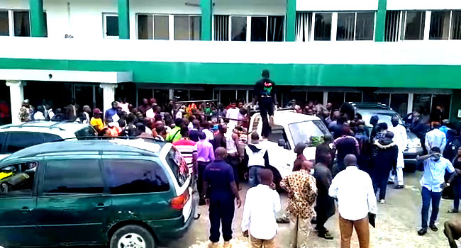Plateau Attack: Youths Storm Assembly, Govt House With Victims' Corpses