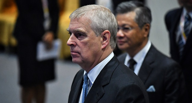 Prince Andrew Sued Over Alleged Sex Abuse