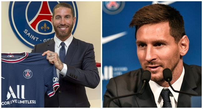 Ramos Invites Messi, Family To Come Stay With Him At Paris Home