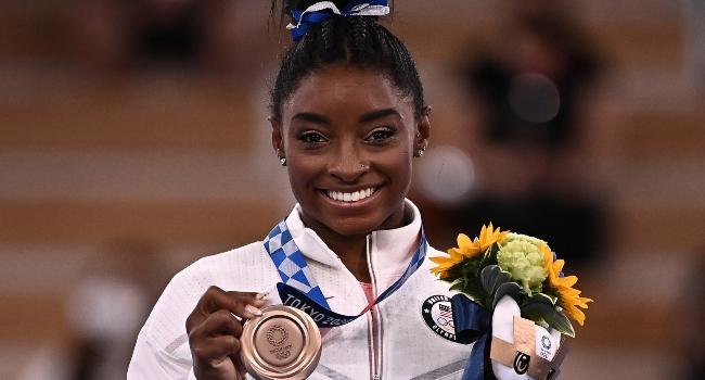 Tokyo 2020: Simone Biles Wins Bronze After Mental Health Battle