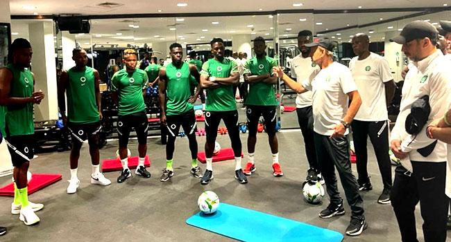 Qatar 2022 Qualifier: Super Eagles Prepare For Liberia, Cape Verde Games