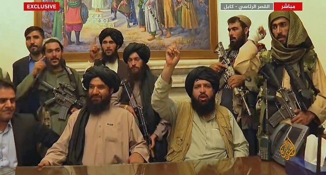 Putin Hopes Afghanistan's Taliban Will Be 'Civilised'