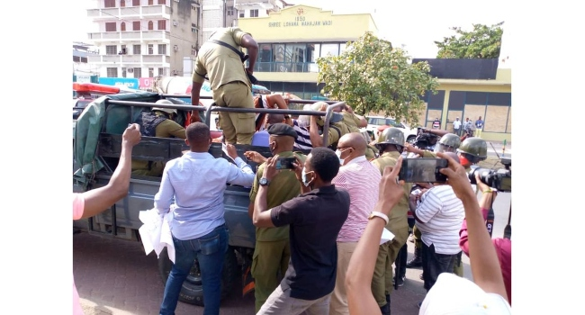 Tanzania Arrests Protesters As Opposition Leader's Court Case Stalls