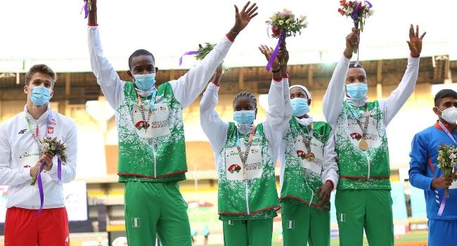 Nigeria Wins U-20 Inaugural 4x400m Mixed Relay Championship