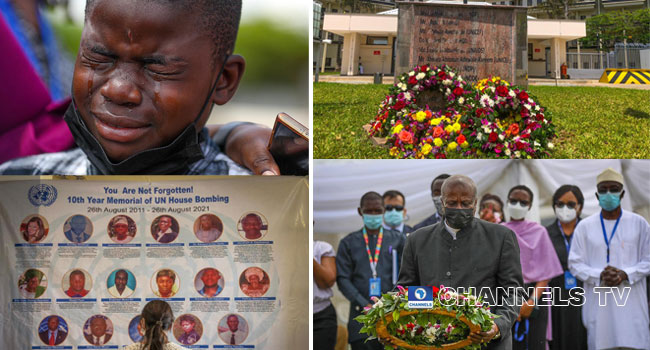 10-Year Memorial For Victims Of UN House Bombing In Pictures