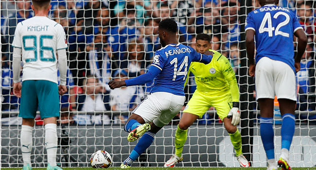 Iheanacho Scores Winner As Leicester Beat Man City To Lift Community Shield