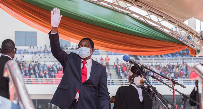 Zambia Swears In New President