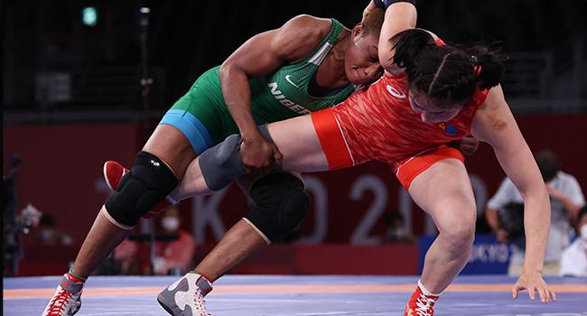 Tokyo 2020: Igali Praises Oborududu, Says Wrestlers Not Under Pressure