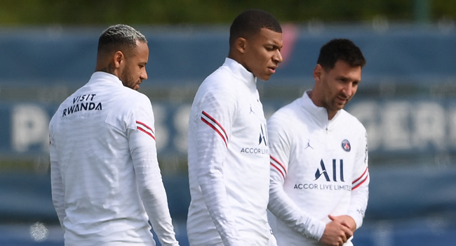 Messi To Play With Neymar And Mbappe For First Time, Says Pochettino