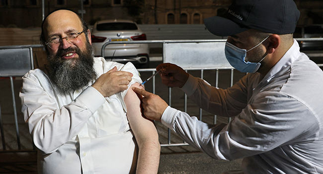 Israel To Begin Covid Booster Shots For Over 40s