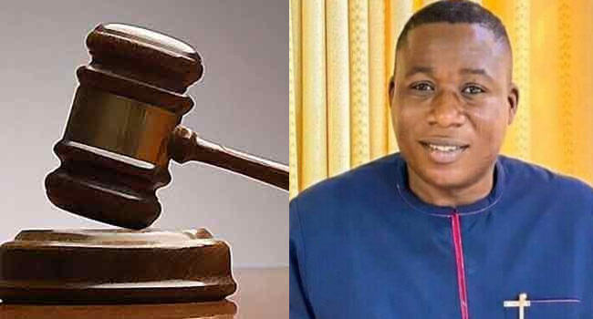 Court Restrains DSS, AGF From Arresting Sunday Igboho, Blocking His Bank Accounts