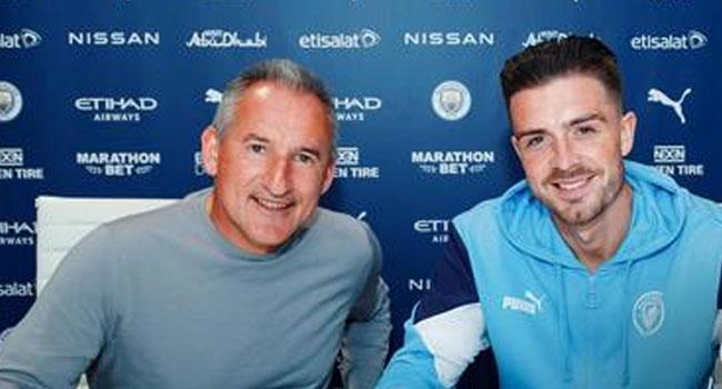 Man City Sign Jack Grealish From Aston Villa