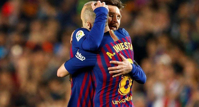 It's Difficult To See Messi In Another Club's Colours, Says Iniesta