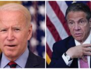 A photo combination of US President Joe Biden and New York Governor, Andrew Cuomo.