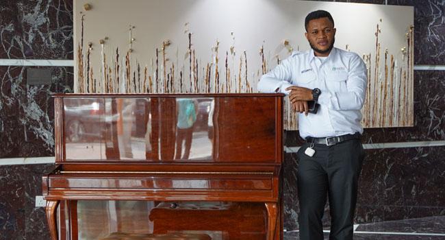 Nigerian Security Guard Turns Music Sensation In Dubai