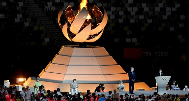 IOC President Declares Tokyo Olympics Closed