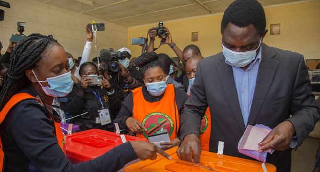 Social Media Restricted As Zambians Vote In Hard-Fought Polls
