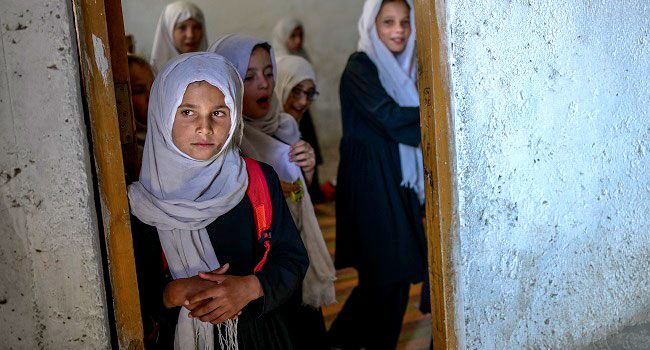 Taliban Say Girls To Return To School 'Soon As Possible'