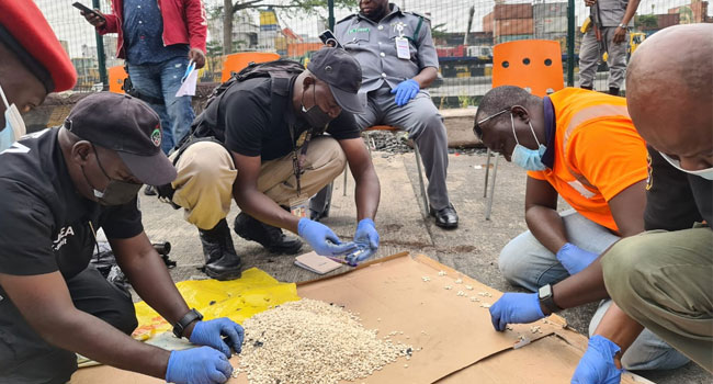 Customs, NDLEA, DSS Uncover Prohibited Hard Drugs In Apapa Port