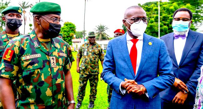 Security Of Lagos Must Remain Military's Priority, Says Sanwo-Olu