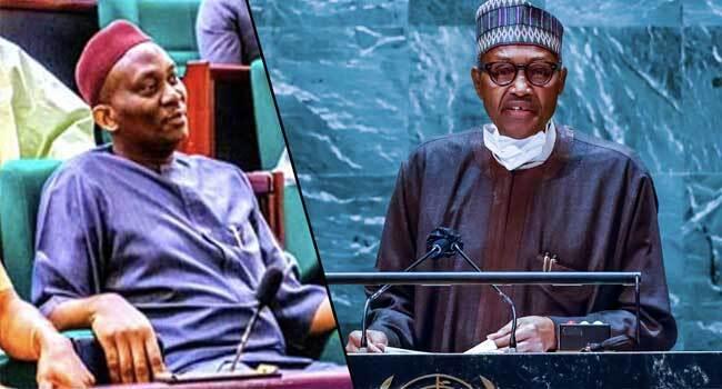 Reps Minority Faults Buhari's UNGA Speech, Says Terrorists 'Emboldened Under His Watch'