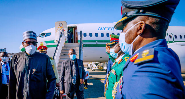 Buhari Arrives In New York For UN General Assembly