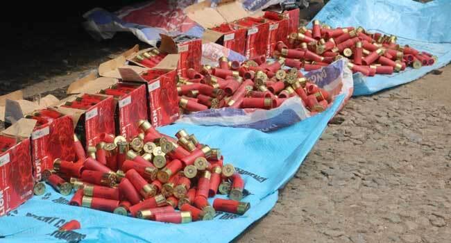 Customs Intercept Ammunition Concealed In Cassava Flour Bags
