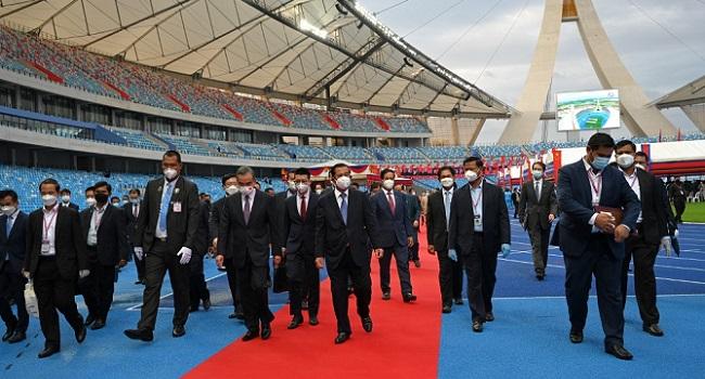 China Gifts New $150 Million National Stadium To Cambodia