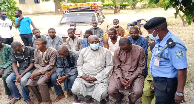 Police Arrest Notorious Bandit, 17 Others In Katsina