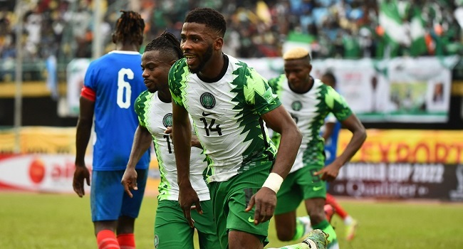 Iheanacho Shines As Nigeria Beat Liberia In World Cup Qualifier