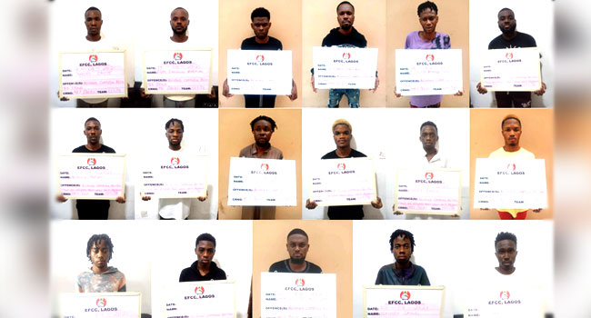 402 Cybercrime Suspects Arrested In Lekki In Three Months – EFCC