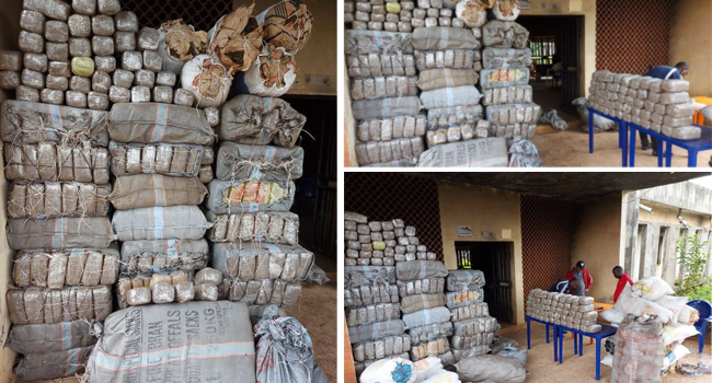 NDLEA Intercepts 24,311KG Of Heroin, Codeine In Lagos