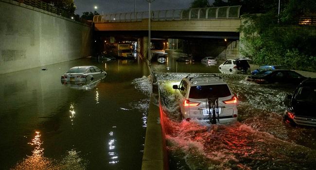 Eight Dead In New York City As Ida Brings Flash Flooding